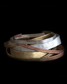 Metallurgy Stacking Cuffs