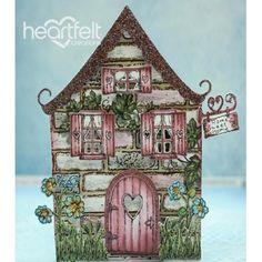 Heartfelt Creations - Sparkling Wildwood Cottage Project
