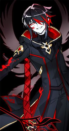 me on els lol Anime Demon, Manga Anime, Anime Art, Elsword Anime, Konosuba Wallpaper, Chibi, Dark Anime Guys, Anime Lindo, Dnd Characters