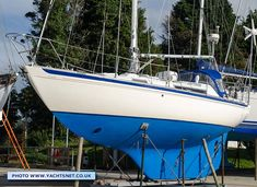 For many years Camper & Nicholson's boats virtually defined quality construction, and compared to almost all modern production yachts the Nicholson 31 is massively strongly built. She is also designed for serious sea-going, rather than daysailing between marinas.