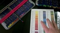 Inktense Swatch Download Chart (Free) Video Tutorial Demo. Very nice and handy!