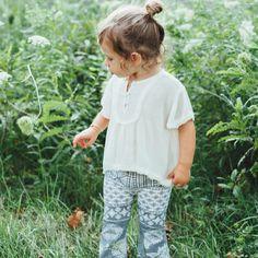 #bohobaby #babyfashion #babystyle #bohobabystyle http://lapetitepeach.com/children-of-the-tribe-flared-leggings/