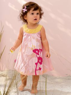 #Robe à plis rose Atelier LZC bébé #fille - Collection Printemps été 2014 www.vertbaudet.fr