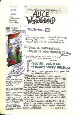 i'm a moleskine freak and a movie addicted. Bullet Journal Lettering Ideas, Bullet Journal Ideas Pages, Journal Pages, Movie Bullet, Critique Film, Movie Collage, Bullet Journal Aesthetic, Film Studies, Cinema Film