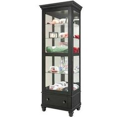 Elegant antique curio cabinet home ideas and things - Bathroom vanities nebraska furniture mart ...