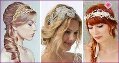 Svadobné účesy s ofinou na dlhé, krátke a stredné vlasy - príklady s fotkami