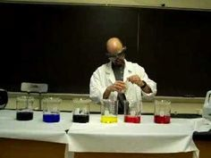 Great idea to use The Rainbow Connection (from the Muppets movie) as a song to go along with this fantastic chemistry demo.