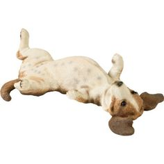 Sandicast Companion Size Basset Hound Sculpture, Lying Back by Sandicast. $92.37. Every Sandicast sculpture is hand cast and carefully hand painted with uncompromising attention to detail. Amazingly life-like basset hound with stylish red collar; strikingly realistic and remarkably expressive. Companion size sculpture measures 19 by 9 by 5-inches; beautifully conceived and meticulously crafted. Designed by world-renowned animal sculpture artist sandra brue; animals...