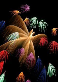 Fireworks,Shuttle