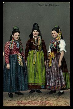 German Folk Dress. Hansel and Gretel. Witch