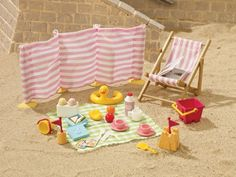 [SF] Beach Picnic buy on Sylvanian Families. , offer Sylvanian Families at discounted rate in Sylvanian Families Picnic Set, Beach Picnic, Fish Fryer, Seaside Restaurant, Picnic Blanket, Outdoor Blanket, Applique Wall Hanging, Event Website, Sylvanian Families