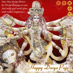 Durga Happy Durga Puja, Durga Maa, Divine Goddess, Religious Studies, Deities, Religion, Game Of Thrones Characters, Marriage, Princess Zelda