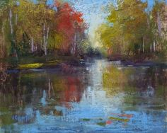 A Useful Tip for Packing Plein Air Gear, painting by artist Karen Margulis