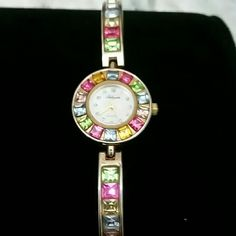 Winter sale Colorful Watch, bracelet Bangel In perfect working order Accessories Watches