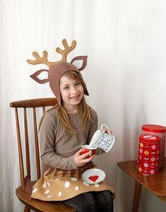 Hey, I found this really awesome Etsy listing at https://www.etsy.com/listing/228002064/reindeer-pattern-diy-costume-sewing