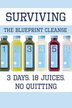 Surviving the #BlueprintCleanse: 3 Days. 18 Juices. No Quitting