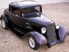 1933+Plymouth+Coupe | 1933 Plymouth coupe Custom Two Tone Black and Tan Leather Interior
