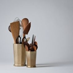 Brass Kitchen Tool Holder. I Love Everything Japanese Designer Oji Masanori  Does.