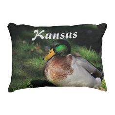 Kansas Mallard, and Squirrel Pillow