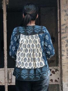 Indigo Shrug – The Loom