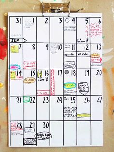 planner DEC 2013MAY 2015 by hippieprojects on Etsy