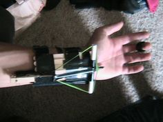 How to make a hidden crossbow