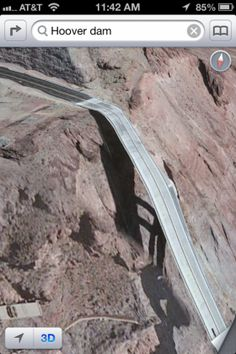 hoover-dam-apple-maps