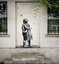 "JEF AEROSOL - ""Love is the answer"" - Paris, France / Photo credit to Bernie Zedungue"