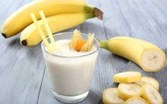 3 Delicious Banana Smoothies For Healthy Weight Loss Smoothie Fruit, Healthy Smoothies, Healthy Drinks, Healthy Recipes, Smoothie Diet, Skinny Recipes, Fruit Salad, Healthy Food, Banana Drinks