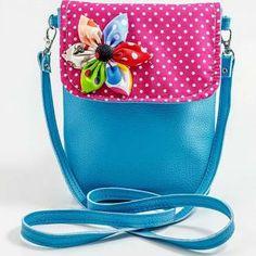 Cross body fabric bag- spring sling bag- teen hobo bag-shoulder ...