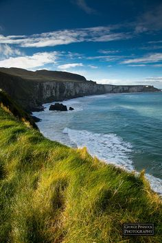 ✯County Antrim Coast - Northern Ireland - walking back from Carrick a Rede rope bridge
