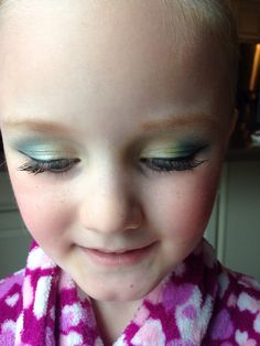 Eye makeup dance recital