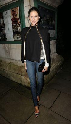 Tartan & Sequins: Girl Crush of the Week: Julia Ryan (NOTE: long jacket/blazer, nude heels)