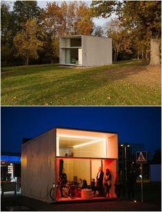 La compañía Kodasema (de Estonia), creó la mini casa prefabricada KODA. Es un edificio de unos 28m2 con sala, cocina, baño y un altillo con…