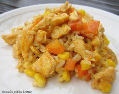 Juustoinen kanavuoka | Onnelin pikku keittiö Macaroni And Cheese, Ethnic Recipes, Food, Essen, Mac And Cheese, Yemek, Meals