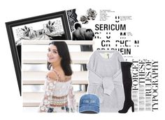 """""""BEST LUCK//TESSA"""" by halloween-town ❤ liked on Polyvore featuring Pennyblack, Eleanor Long and Steve Madden"""