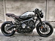 Ideas For Scrambler Motorcycle Yamaha Cars Source link Yamaha Cafe Racer, Gs 500 Cafe Racer, Cafe Moto, Cafe Racer Build, Yamaha Motorcycles, Motorcycle Equipment, Motorcycle Shop, Motorcycle Camping, Scrambler Motorcycle