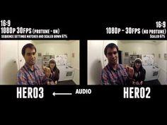 GoPro Hero3 Black Edition Low Light & Audio - Side by Side Comparison Test/Review - stephendiaz.com