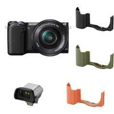 Sony NEX-5TL Compact Interchangeable Lens Digital Camera with 16-50mm Power Zoom Lens Super Bundle 2