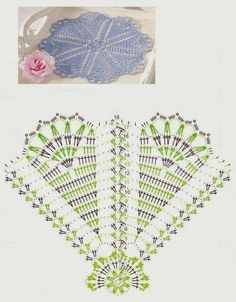 New crochet doilies easter table runners ideas Filet Crochet, Crochet Doily Diagram, Crochet Doily Patterns, Crochet Chart, Thread Crochet, Crochet Motif, Irish Crochet, Crochet Designs, Crochet Doilies