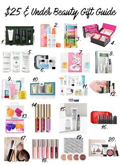20 Beauty Gifts Under $25 | Blogmas Day 7 / sharmtoaster