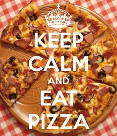 KEEP CALM AND EAT PIZZA. Another original poster design created with the Keep Calm-o-matic. Buy this design or create your own original Keep Calm design now. Pizza Food Truck, Eat Pizza, Keep Calm Signs, Keep Calm Quotes, Keep Clam, Eating Quotes, Thats So Me, Food Wallpaper, Stay Calm