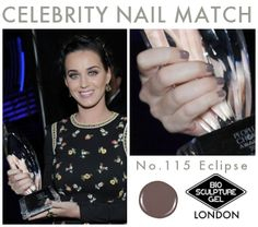 Celebrity Nail Match: No.115 Eclipse Bio Sculpture Nails, Funky Fingers, Celebrity Nails, Katy Perry, Nails Inspiration, Nail Art, Celebrities, Watch, Makeup