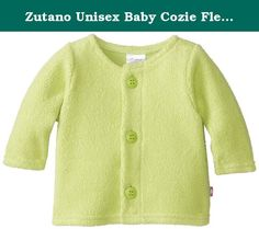 Zutano Unisex Baby Cozie Fleece Jacket,Lime,3 Months. A favorite of parents now available in smaller sizes. This wonderful cozie fleece jacket is the perfect layering piece, warm enough to cover up on chilly days and lightweight enough to not add too much bulk for car seats and stroller straps. Imported.