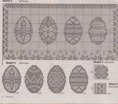 Easter Crochet Patterns, Crochet Doll Pattern, Crochet Dolls, Knitting Patterns, Cross Stitch Books, Cross Stitch Charts, Cross Stitch Patterns, Fillet Crochet, Easter Cross