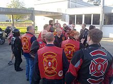 Red Knights International Firefighters Motorcycle Club