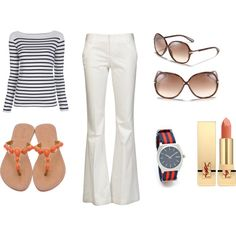 wish I could wear the white pants