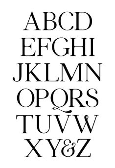 Stillis Typeface by Seth Mach, via Behance