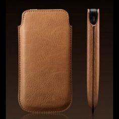 SONDERVERKAUF - More-Thing Letiqué Collection Ledercase für iPhone 5s/5 - Braun bei www.StyleMyPhone.de Coque Macbook, Macbook Air, Iphone 5s, Geek Stuff, Slipcovers, Brown, Geek Things