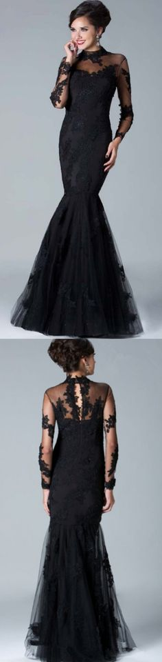 Trumpet Prom Dresses, Black Prom Dresses, Long Prom Dresses With Lace Long Sleeve Floor-length, Long Sleeve Dresses, Black Lace dresses, Mermaid Prom Dresses, Long Sleeve Prom Dresses, Long Black dresses, Long Prom Dresses, Black Long Sleeve dresses, Long Sleeve Black dresses, Long Sleeve Lace dresses, Lace Prom Dresses, Black Lace Prom dresses, Black Mermaid dresses, High Neck dresses, Long Lace dresses, Black Long dresses, Lace Black dresses, Long Sleeve Long Dresses, Lace Long Sleev...